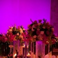 Reception, Flowers & Decor, orange, pink, red, purple, gold, Flowers