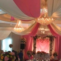 Ceremony, Reception, Flowers & Decor, white, pink, gold