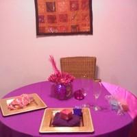 Reception, Flowers & Decor, Favors & Gifts, pink, purple, gold, Favors