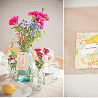 Reception, Flowers & Decor, pink, Burlap
