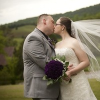 Flowers & Decor, Wedding Dresses, Fashion, white, purple, silver, dress, Flowers, Flower Wedding Dresses