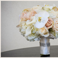 Flowers & Decor, white, pink, Bride Bouquets, Flowers, Bouquet, Orchid, Rose