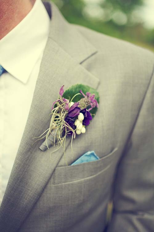 Flowers & Decor, purple, green, Groomsmen, Flowers, Groom, Inspiration board, Bout