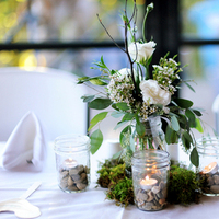 Reception, Flowers & Decor, white, green, Flowers, Inspiration board, Moss