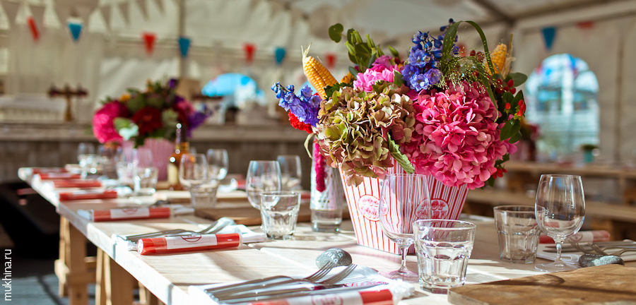 Reception, Flowers & Decor, white, orange, pink, red, purple, blue, green, brown, gold, Centerpieces, Flowers, Inspiration board, Pop, Corn