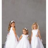 Flowers & Decor, Wedding Dresses, Fashion, white, pink, dress, Flower, Girl