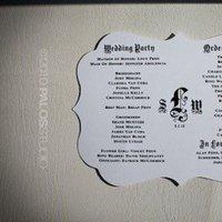 Ceremony, Flowers & Decor, Favors & Gifts, white, black, Favors, Program, Inspiration board, Menue