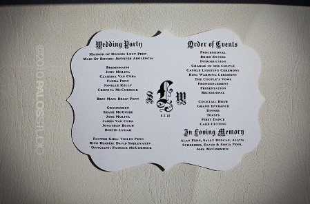 Ceremony, Flowers & Decor, Favors & Gifts, white, black, Favors, Program, Inspiration board, Menue