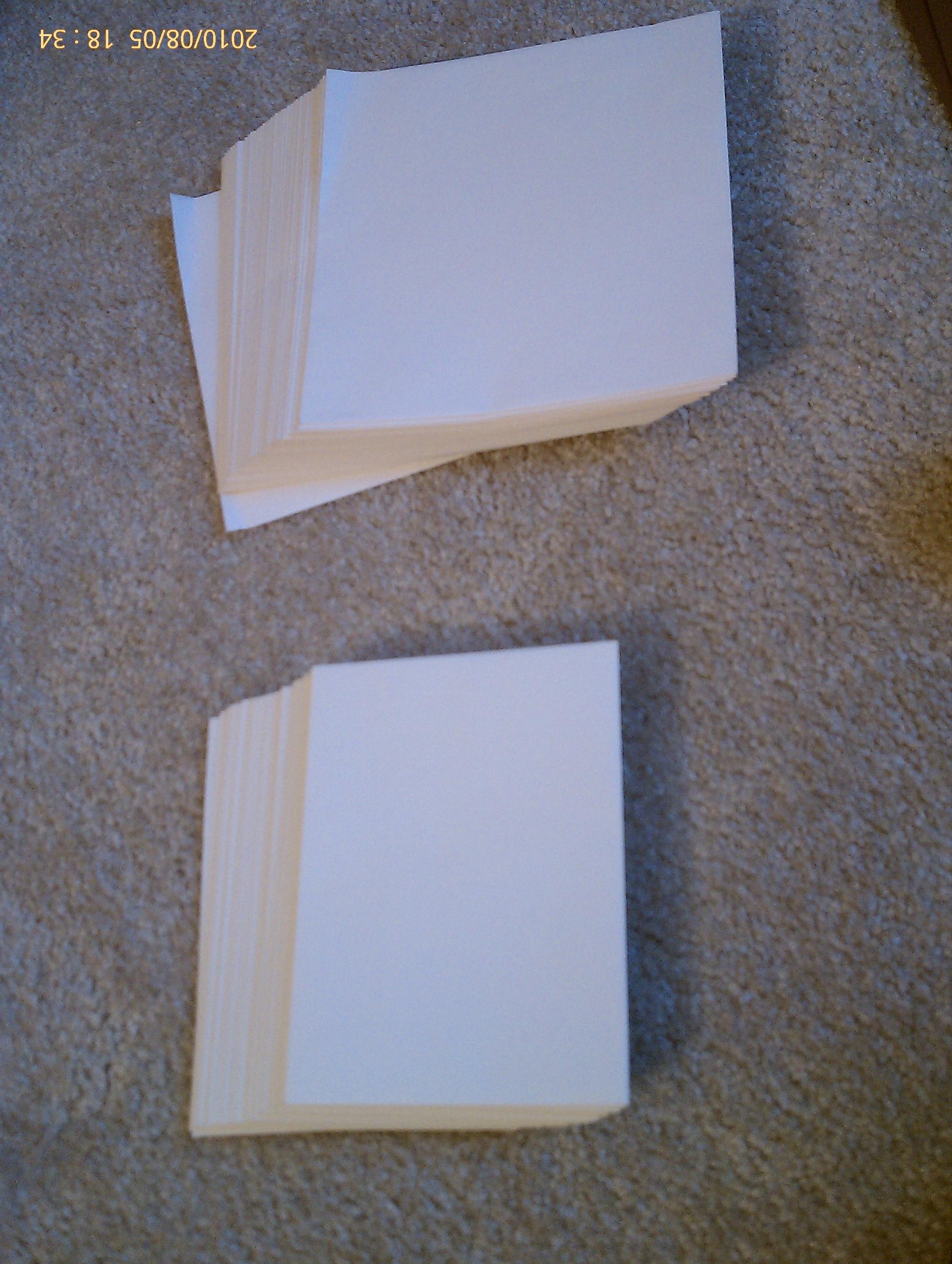 Rsvp, Envelopes