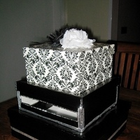 Reception, Flowers & Decor, white, black, silver, Box, Card, Inspiration board