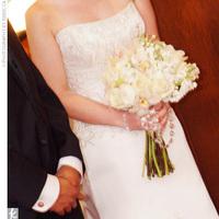 Flowers & Decor, white, Bride Bouquets, Flowers, Bouquet, Bridal, Crystal