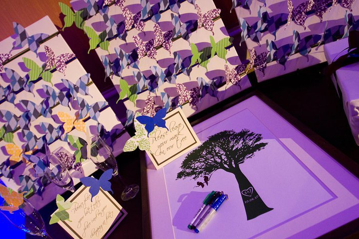 Reception, Flowers & Decor, Stationery, white, purple, blue, black, Guestbooks, Book, Guest, Inspiration board