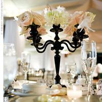 Reception, Flowers & Decor, black