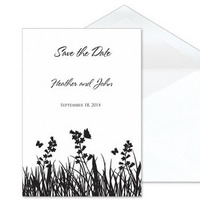 Stationery, Invitations, Butterfly, The, Save, Date, Romance, Shop, Pw