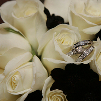 Ceremony, Flowers & Decor, Jewelry, white, brown, Ceremony Flowers, Flowers