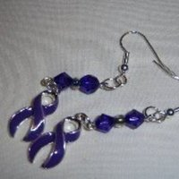 Jewelry, purple, black, silver