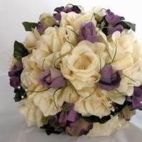 Ceremony, Flowers & Decor, white, purple, Ceremony Flowers, Flowers