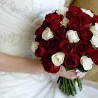 Ceremony, Flowers & Decor, white, red, Ceremony Flowers, Flowers