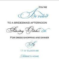 Bridesmaids, Bridesmaids Dresses, Fashion, blue, black