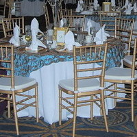 Reception, Flowers & Decor, white, Round, Tablecloth, Illinois