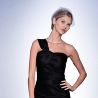 Bridesmaids, Bridesmaids Dresses, Fashion, black, Bill levkoff