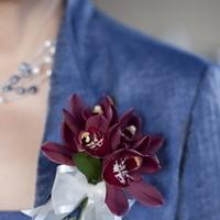 Flowers & Decor, burgundy, purple, Modern, Vineyard, Orchids, Elegance, Contemporary, Elizabeth andrew