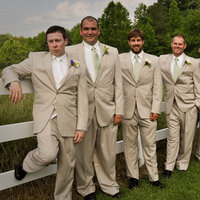 Fashion, orange, brown, Men's Formal Wear, Groomsmen, Tux