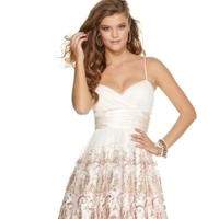 Wedding Dresses, Fashion, white, pink, dress