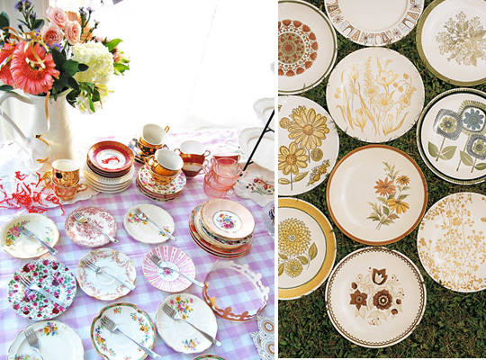 Vintage, China, Inspiration board, Vintage wedding