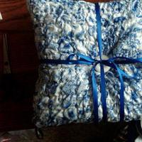 Ceremony, Flowers & Decor, white, blue, Ring, Pillow, Bearer, Inspiration board
