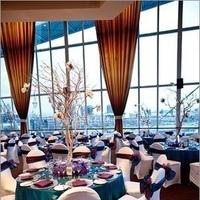 Reception, Flowers & Decor, white, purple, blue