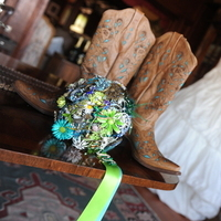 Reception, Flowers & Decor, Jewelry, blue, green, Brooches, Bride Bouquets, Flowers, Bouquet, Brooch, Inspiration board