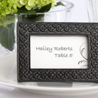 Favors & Gifts, black, Favors