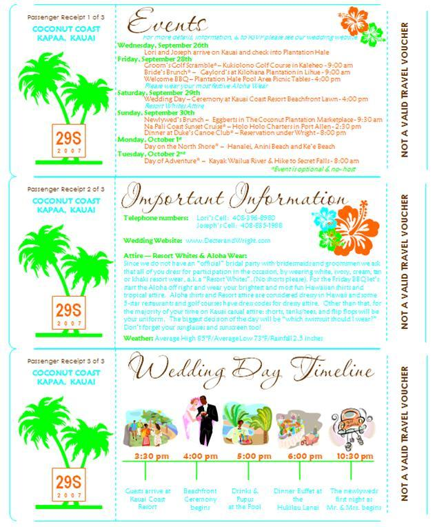DIY, Stationery, Destinations, Paper, orange, blue, green, Hawaii, Invitations, Dw