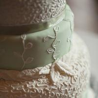 white, cake, green, Cakes