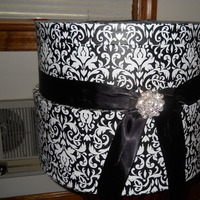 Reception, Flowers & Decor, white, black, My, Inspiration board, Damask, Cardbox
