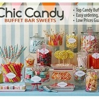 Favors & Gifts, white, yellow, orange, pink, red, purple, blue, green, brown, black, silver, gold, Favors, Candy, Buffet