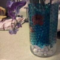 Flowers & Decor, red, purple, blue, Centerpieces, Flowers, Centerpiece, Lilies, Wisteria