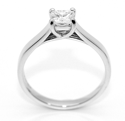 Jewelry, white, silver, gold, Engagement Rings, Princess Cut Engagement Ring, Ring, Princess, Engagement, Diamond, Cut