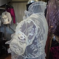 Wedding Dresses, Lace Wedding Dresses, Fashion, white, dress, Wedding, Lace, Bolero, Jacket