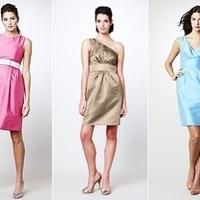 Bridesmaids, Bridesmaids Dresses, Fashion, white, purple, gold
