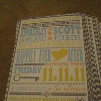 Stationery, white, yellow, blue, silver, Invitations, Inspiration board