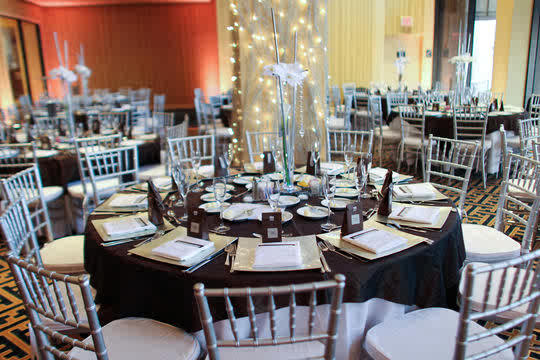 Reception, Flowers & Decor, brown, silver, Platinum, Chocolate, Chic