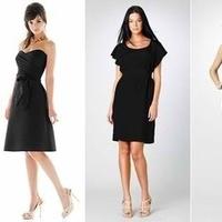 Bridesmaids, Bridesmaids Dresses, Wedding Dresses, Fashion, black, dress, Bridesmaid