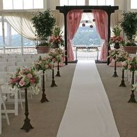 Ceremony, Flowers & Decor, pink