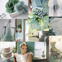 blue, green, Inspiration board