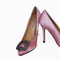 Shoes, Fashion, pink, Manolo, Blahnik