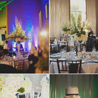 Reception, Flowers & Decor, Cakes, white, green, black, cake, Flowers, Inspiration board