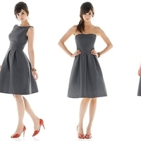 Bridesmaids, Bridesmaids Dresses, Wedding Dresses, Fashion, gray, dress, Dresses
