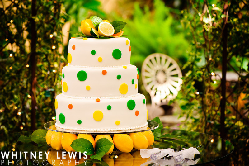Reception, Flowers & Decor, Cakes, white, yellow, green, cake, Summer, Bright, Colorful, Happy, Awesome